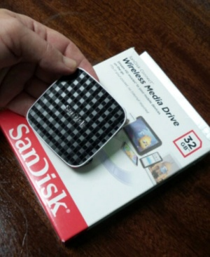 Review of the SanDisk Connect Wireless Media Drive