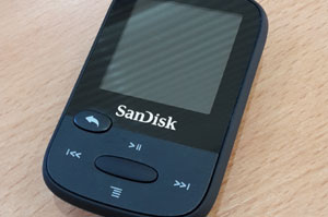 The Volume is too low on my SanDisk Clip Sport MP3 Player