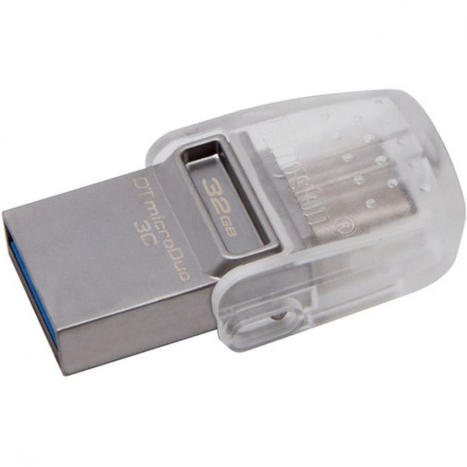 Kingston DataTraveler MicroDuo 3C USB Flash Drive 32GB