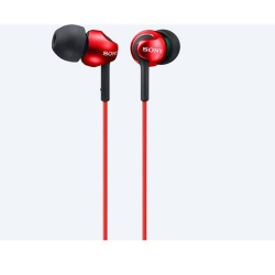 Sony MDR-EX110LP In-Ear Headphones - Red
