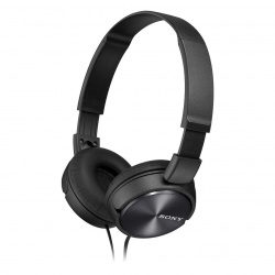 Sony MDRZX310 OnEar Headphones  Metallic Black