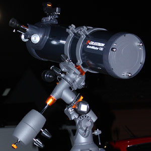 I bought the Celestron Astromaster 130eq Telescope as a beginner astronomer