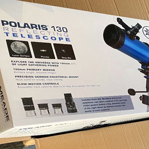 Meade Polaris 130mm Telescope – Excellent Start to Astronomy