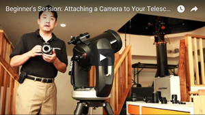 Attaching a Camera to Your Celestron Telescope