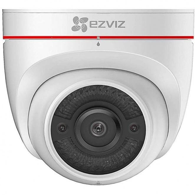 EZVIZ C4W Outdoor Security Camera with Siren and Strobe Light