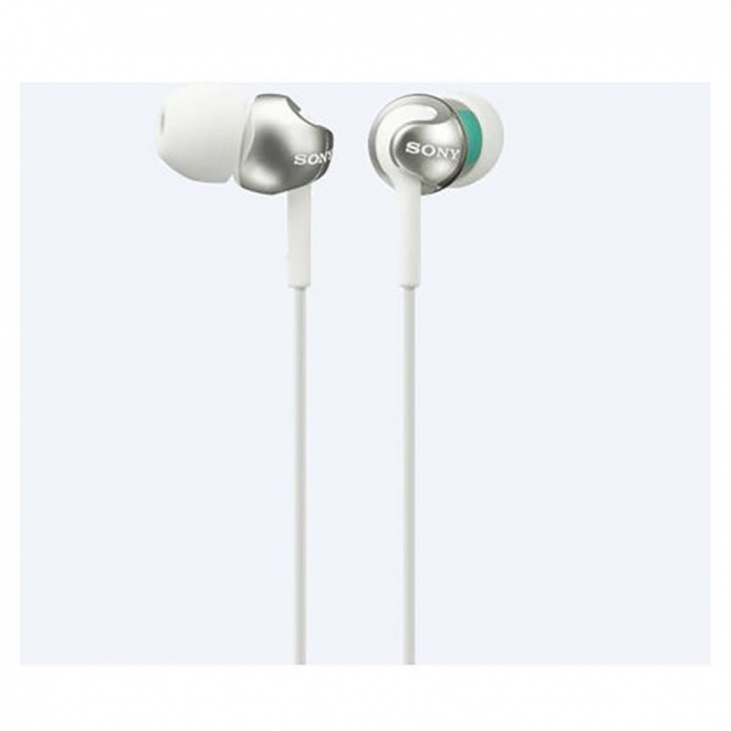 Sony MDREX110LP InEar Headphones  White