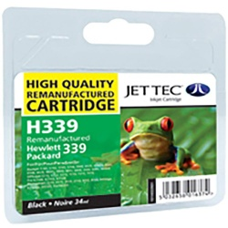 HP339 C8767EE Black HC Remanufactured Ink Cartridge by JetTec H339