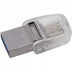 Image of Kingston DataTraveler 32 GB Micro Duo Type C USB 3.1 Gen 1/USB 3.0 Flash Drive