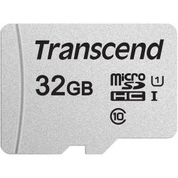 Image of Transcend 300S UHS-I MicroSDHC Memory Card 32GB