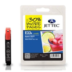 Epson T0331 Black Compatible Ink Cartridge by JetTec E33B